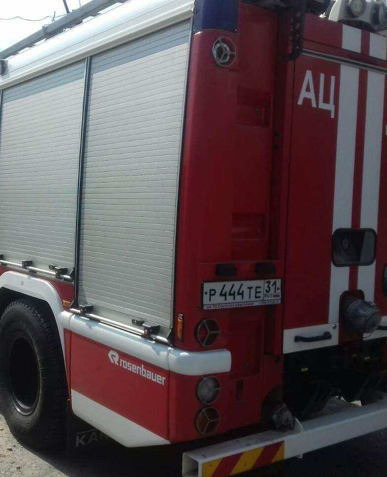 Спасатели МЧС России приняли участие в ликвидации ДТП в селе Сергиевка Губкинского городского округа