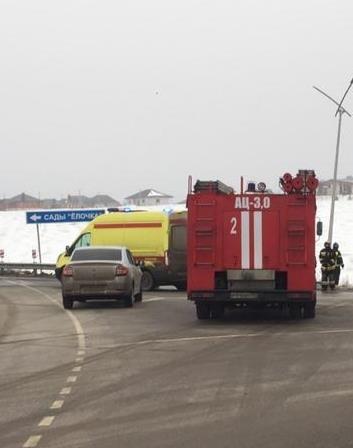 Спасатели МЧС России приняли участие в ликвидации ДТП в районе поселка Майский - 8 Белгородского района