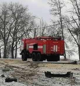 Спасатели МЧС России приняли участие в ликвидации ДТП в Ивнянском районе