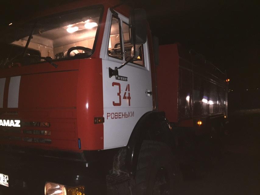 Спасатели МЧС России приняли участие в ликвидации ДТП в поселке Ровеньки Белгородской области