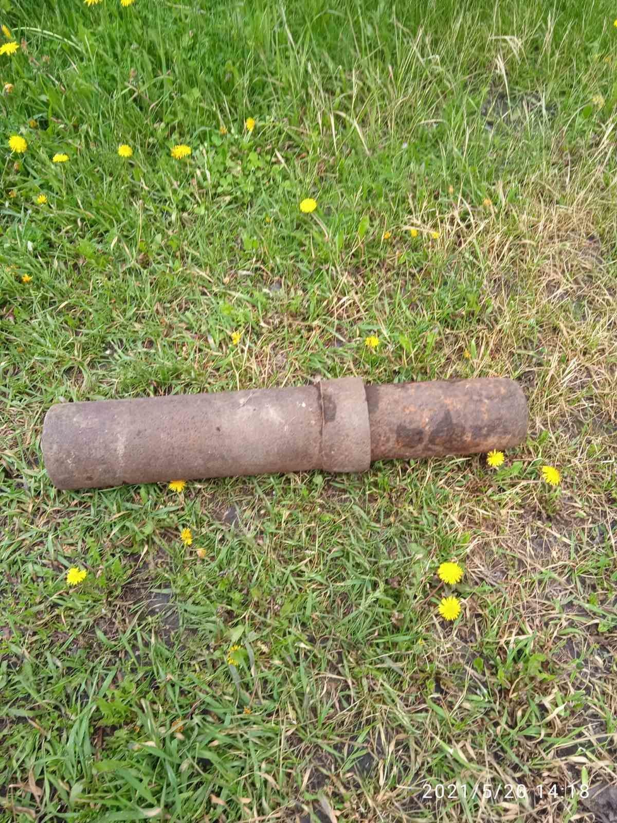 В городе Строитель Яковлевского городского округа Белгородского района обнаружен взрывоопасный предмет