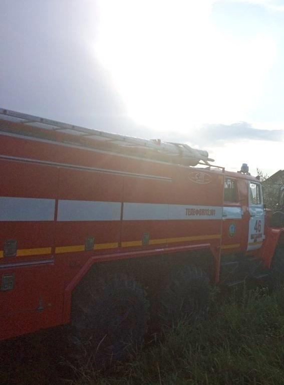 Спасатели МЧС России приняли участие в ликвидации ДТП в селе Шаталовка Старооскольского городского округа