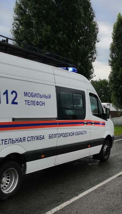 Спасатели МЧС России приняли участие в ликвидации ДТП в селе Беловское Белгородского района
