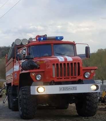 Спасатели МЧС России приняли участие в ликвидации ДТП на территории ЛГОК Губкинского ГО