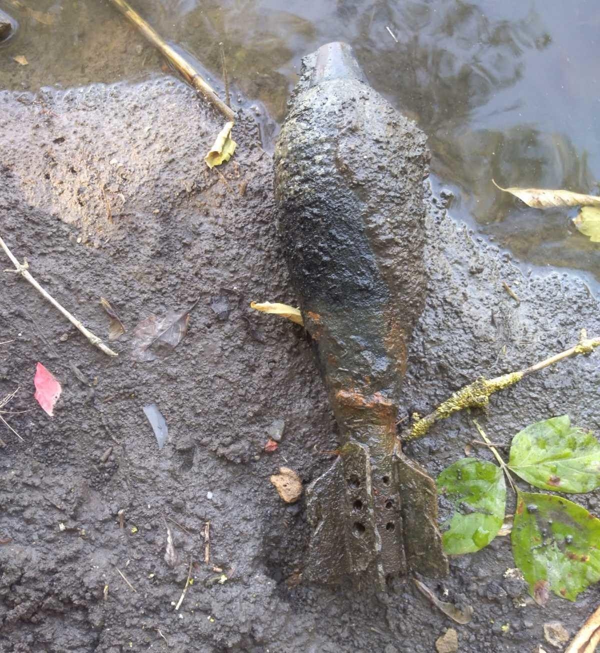В городе Короча Белгородской области обнаружен взрывоопасный предмет